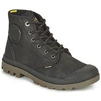 Shoes Mid boots Palladium PAMPA CANVAS Black