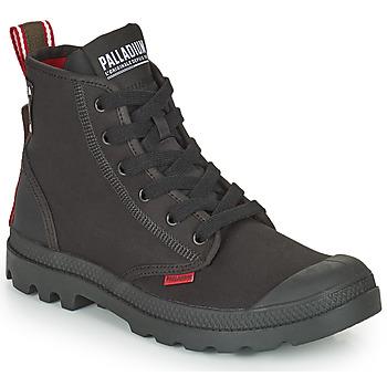 Shoes Mid boots Palladium PAMPA METRO Black