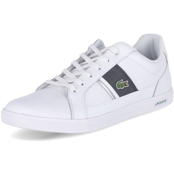 Shoes Men Low top trainers Lacoste Europa White