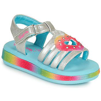 Shoes Girl Sandals Skechers SUNSHINES/FAIRY HEARTS Multicolour
