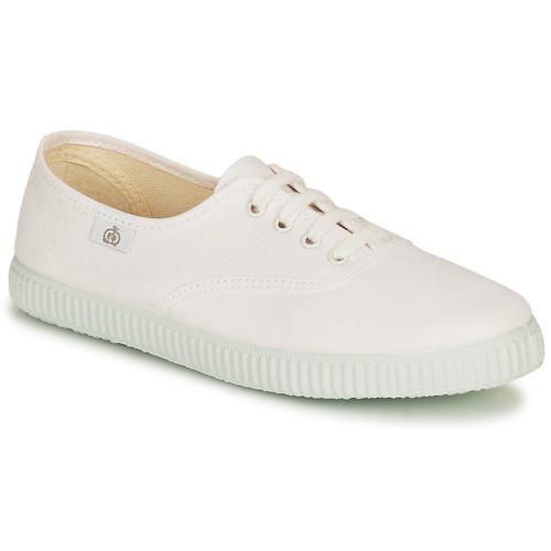 Shoes Children Low top trainers Citrouille et Compagnie KIPPI BOU White