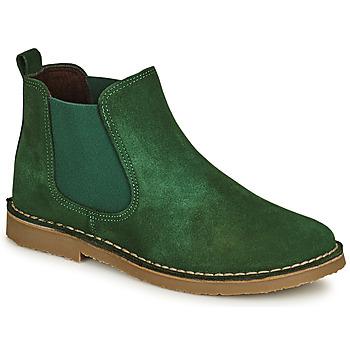Shoes Children Mid boots Citrouille et Compagnie HOVETTE Green