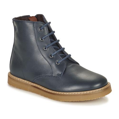 Shoes Children Mid boots Citrouille et Compagnie HATINE Marine