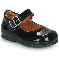 Shoes Girl Flat shoes Citrouille et Compagnie PULLO Varnish / Black