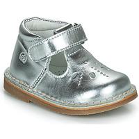 Shoes Girl Flat shoes Citrouille et Compagnie OTALI Silver