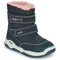 Shoes Boy Snow boots Citrouille et Compagnie POUDOU Blue / Pink