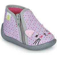 Shoes Girl Slippers Citrouille et Compagnie PASTA Grey