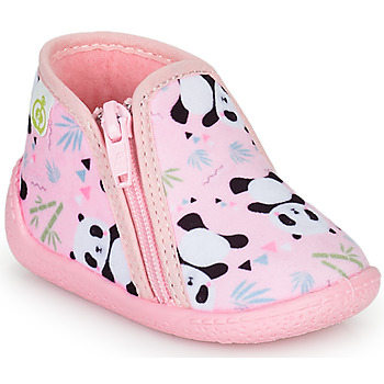 Shoes Girl Slippers Citrouille et Compagnie PACARONI Pink