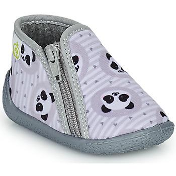 Shoes Children Slippers Citrouille et Compagnie PACARONI Grey