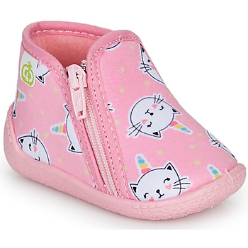 Shoes Girl Slippers Citrouille et Compagnie PAGLIATELLE Pink
