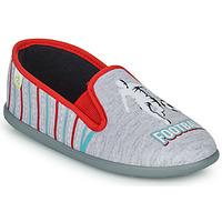 Shoes Boy Slippers Citrouille et Compagnie PAKITEL Grey / Mottled