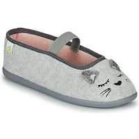 Shoes Girl Slippers Citrouille et Compagnie PASTALDENTE Grey / Pink