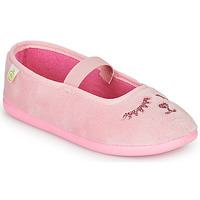 Shoes Girl Slippers Citrouille et Compagnie PIDDI Pink