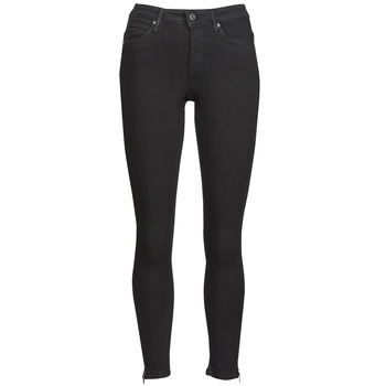 Clothing Women Slim jeans Noisy May NMKIMMY Black