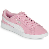 Shoes Girl Low top trainers Puma VIKKY Pink