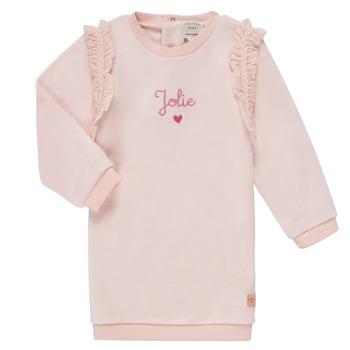 Clothing Girl Short Dresses Carrément Beau ABRICOT Pink