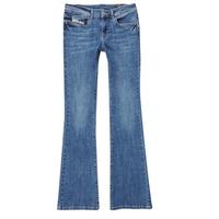 Clothing Girl Bootcut jeans Diesel LOWLEEH Blue