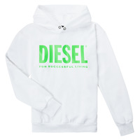 Clothing Children Sweaters Diesel SDIVISION LOGOX OVER White