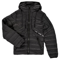 Clothing Boy Duffel coats Diesel JDWAIN Black