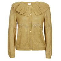 Clothing Women Jackets / Cardigans Vila VICHRISSY Kaki