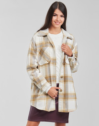 Clothing Women Jackets / Blazers Vila VIKIMMI White / Beige