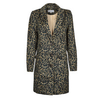 Clothing Women Coats Vila VILEOVITA Brown