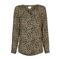 Clothing Women Tops / Blouses Vila VILUCY Brown