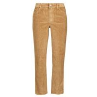 Clothing Women Straight jeans Vila VIOTAS Brown