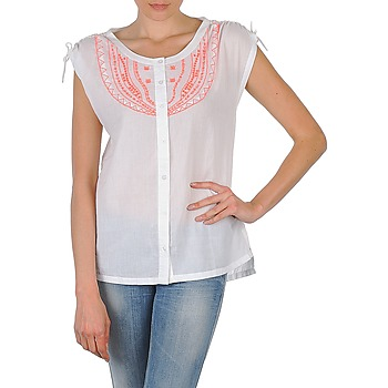 Clothing Women short-sleeved shirts Antik Batik AYLA White