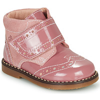 Shoes Girl Mid boots Citrouille et Compagnie PROYAL Pink / Varnish
