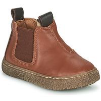 Shoes Boy Mid boots Citrouille et Compagnie PESTACLE Camel