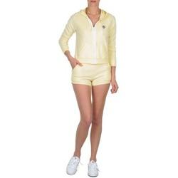 Clothing Women Shorts / Bermudas Petit Bateau TOUPET Yellow