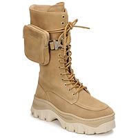 Shoes Women Mid boots Bronx JAXSTAR HIGH Beige