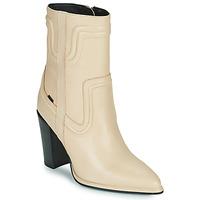 Shoes Women High boots Bronx NEXT AMERICANA Beige