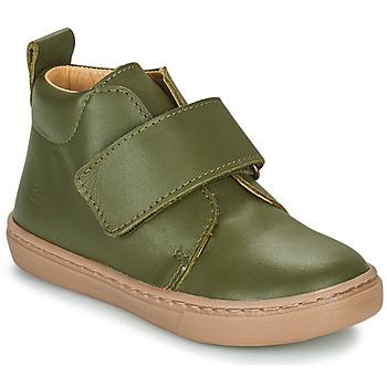 Shoes Boy Mid boots Citrouille et Compagnie FOJAMO Kaki