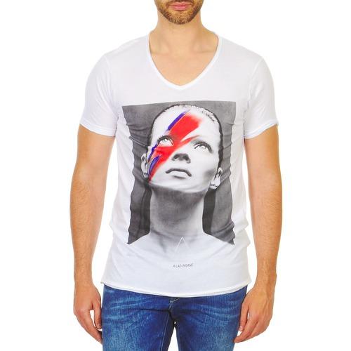 Clothing Men short-sleeved t-shirts Eleven Paris KATOS White