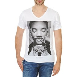 Clothing Men short-sleeved t-shirts Eleven Paris WOLY M White