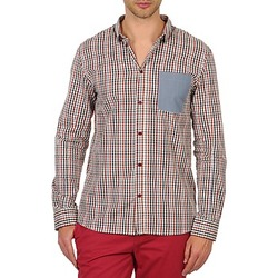 Clothing Men long-sleeved shirts Eleven Paris ELCIELO Multicoloured