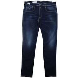 Clothing Men Slim jeans Replay Anbass Hyperflex Re-Used Xlite blue