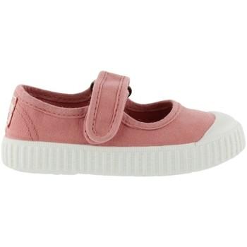 Shoes Children Tennis shoes Victoria Baskets enfant  1915 mercedes toile teintée rose foncé
