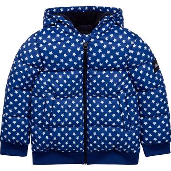 Clothing Children Duffel coats Aigle SOLILA Blue