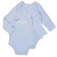 Clothing Boy Sleepsuits BOSS SEPTINA Blue