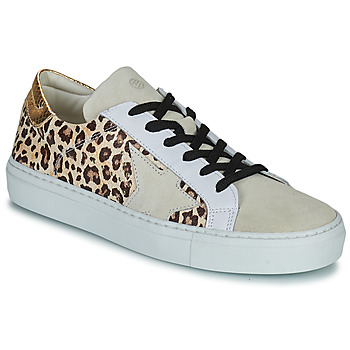 Shoes Women Low top trainers Betty London PAGE Beige