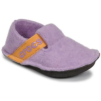 Shoes Girl Slippers Crocs CLASSIC SLIPPER K Purple / Yellow