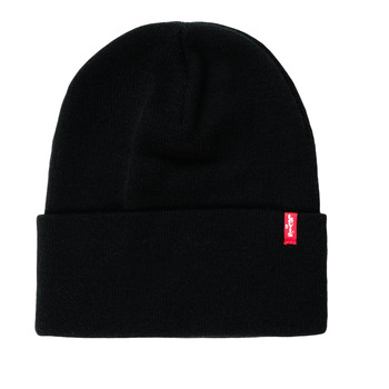 Clothes accessories Hats / Beanies / Bobble hats Levi's SLOUCHY RED TAB BEANIE Regular /  black