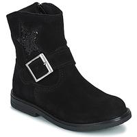 Shoes Girl Mid boots Citrouille et Compagnie POUDRE Black