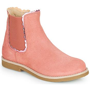 Shoes Girl Mid boots Citrouille et Compagnie PRAIRIE Pink