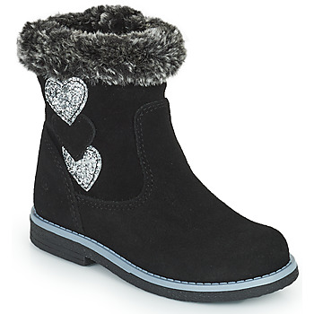 Shoes Girl High boots Citrouille et Compagnie PARAVA Black