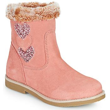 Shoes Girl High boots Citrouille et Compagnie PARAVA Pink