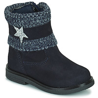 Shoes Girl Mid boots Citrouille et Compagnie PASTEK Marine